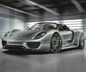 Porsche 918 Weissach package